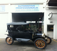 100 years old Model T ford
